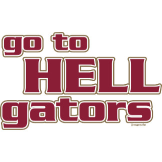 go to HELL gators