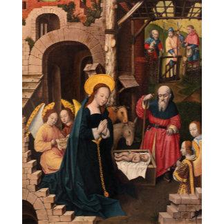 Christmas and Madonna Artwork