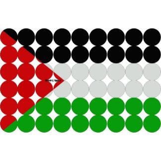 Palestine Flag Circles