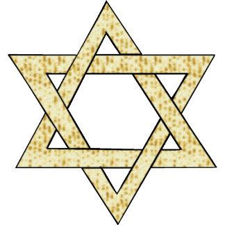 Matzoh Star of David