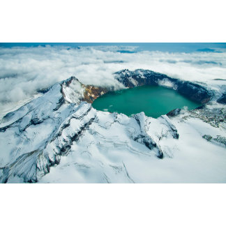 Crater Lake In Katmai National Park, Alaska