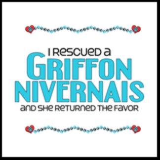 I Rescued a Griffon Nivernais (Female Dog)