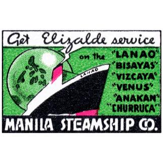1930 Manila Steamship Company