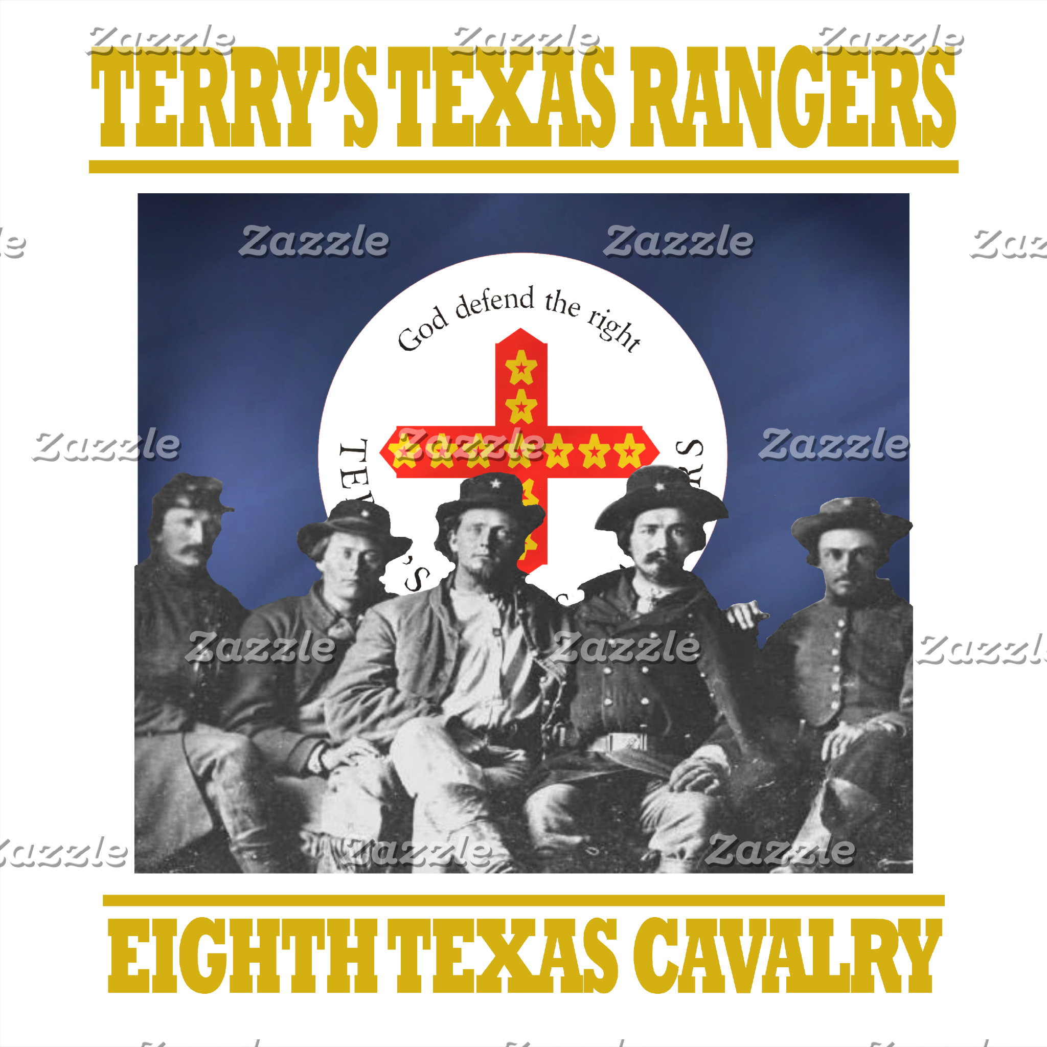 Terry's Texas Rangers -8th Texas Cavalry
