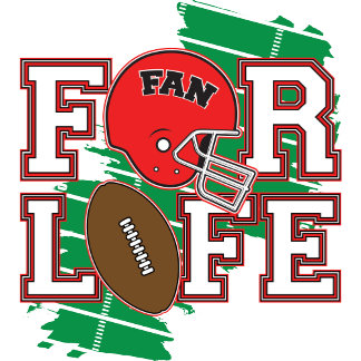 Football Fan Red