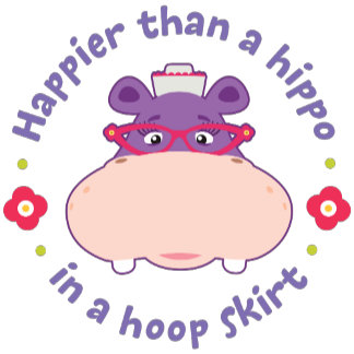 Hallie - Happier Than a Hippo in a Hoop Skirt