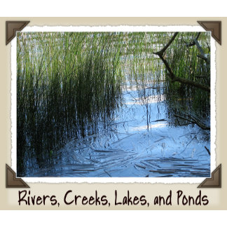 RIVERS, CREEKS, LAKES AND PONDS