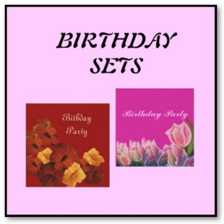 BIRTHDAY  SETS