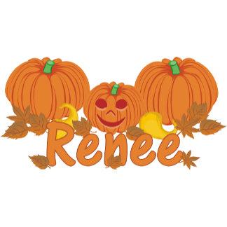 Pumpkin Renee Personalized Halloween