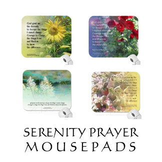 Serenity Prayer Mousepads