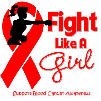 Blood Cancer Fight Like A Girl Knock Out