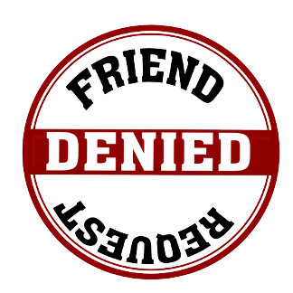 Funny Friend Request Denied