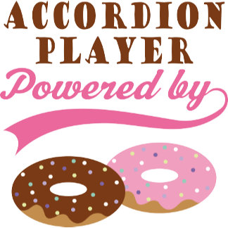 Accordion Player Powered By Donuts