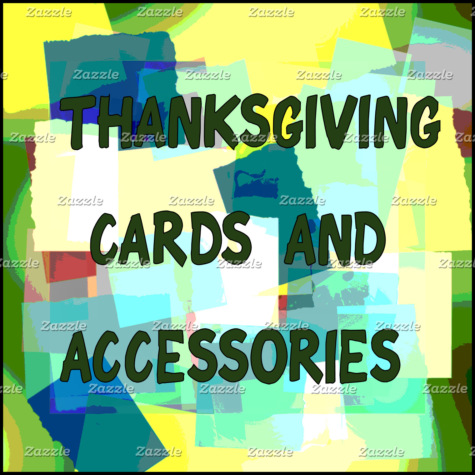 THANKSGIVING CARDS AND ACCESSORIES
