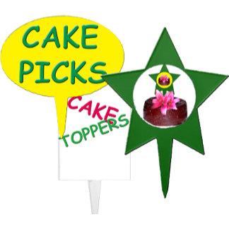 Cake Toppers/Picks
