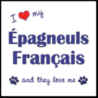 I Love My Epagneuls Francais (Multiple Dogs)