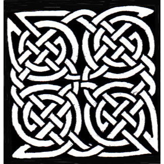 Celtic, tribal and tattoo style