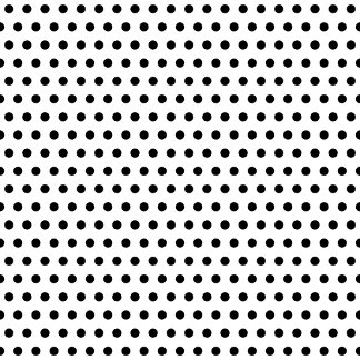 Polka Dot Monograms. And Other Spot Patterns.