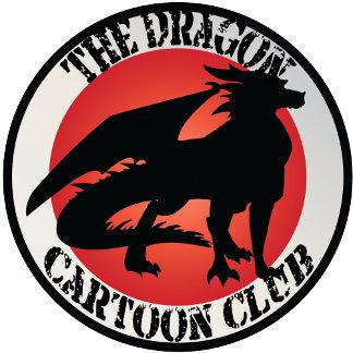 Dragon Cartoon Club Badges