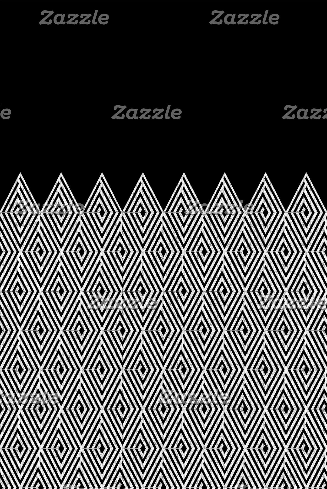 Zigzag Tribal pattern