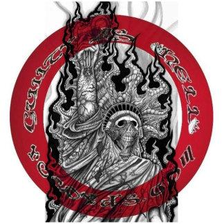 GAHrecords Red/Blk/Wht Logo Merchandise