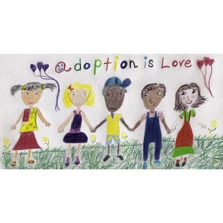 Adoption Inspired Art