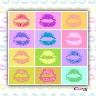 pa. KISS POP ART