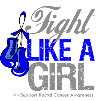 Fight Like a Girl Boxing - Rectal Cancer