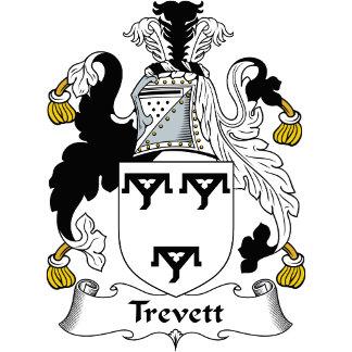 Trevett Family Crest