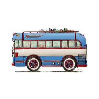 Cute Bus Tour Bus