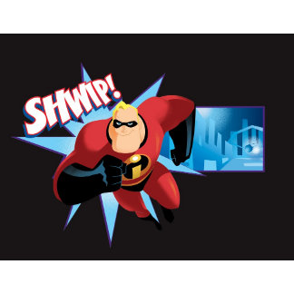 The Incredibles Mr. Incredible Shwip poster