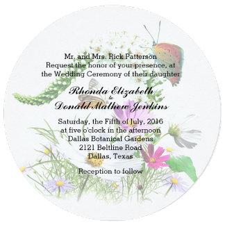 Butterfly Garden Wedding Set