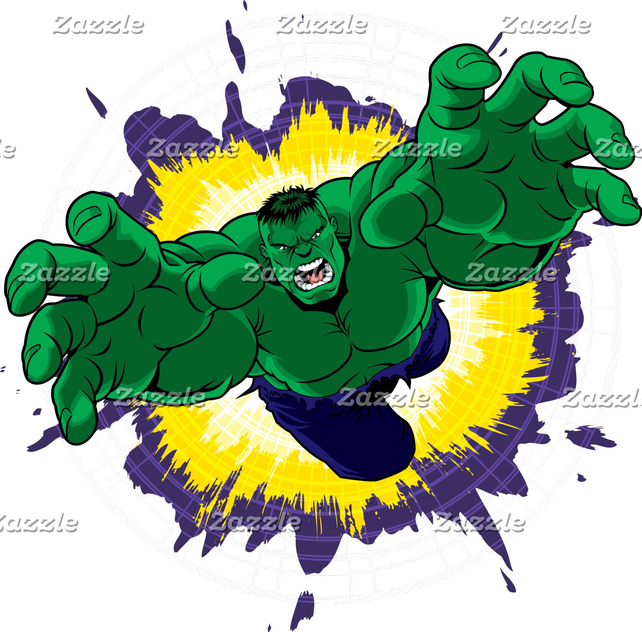Hulk Crash