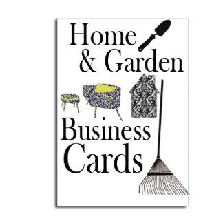 Home & Garden Business Cards
