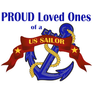 Proud Loved Ones of a US Sailor