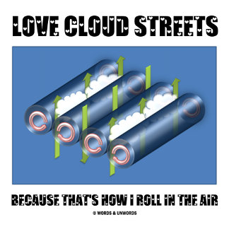 Love Cloud Streets Because That's How I Roll In