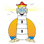 Cartoon Lighthouse White.png