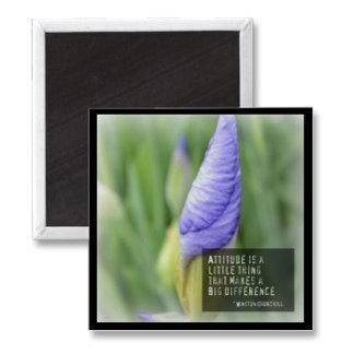 Attitude Purple Iris
