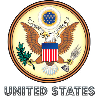 United States High Quality Coat of Arms