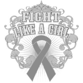 Brain Tumor Fight Like A Girl Fleurish