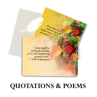 Quotations & Poems