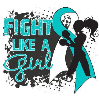 Cervical Cancer Fight Like A Girl Grunge