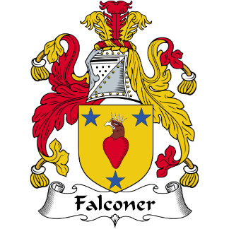Falconer Family Crest / Coat of Arms
