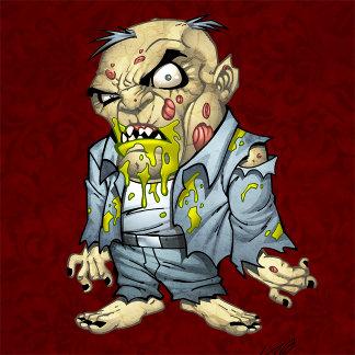 Cartoon Zombie Business Man Art by Al Rio
