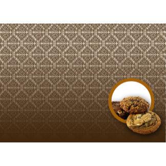Chocolate Damask Desserts