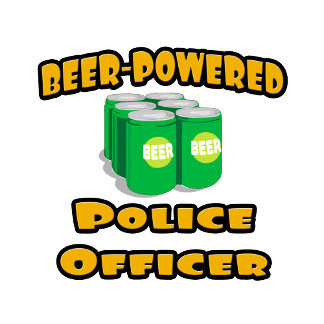 Beer-Powered Police Officer