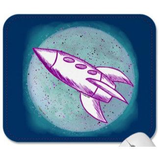 Purple Moon Rocket
