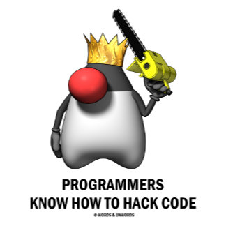 Programmers Know How To Hack Code (Open Source)
