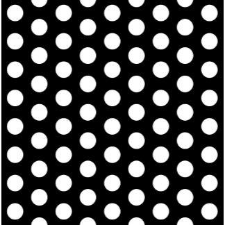 Black White Polka Dots