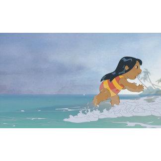 Lilo And Stitch Lilo in ocean